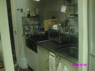 キッチン 整理前