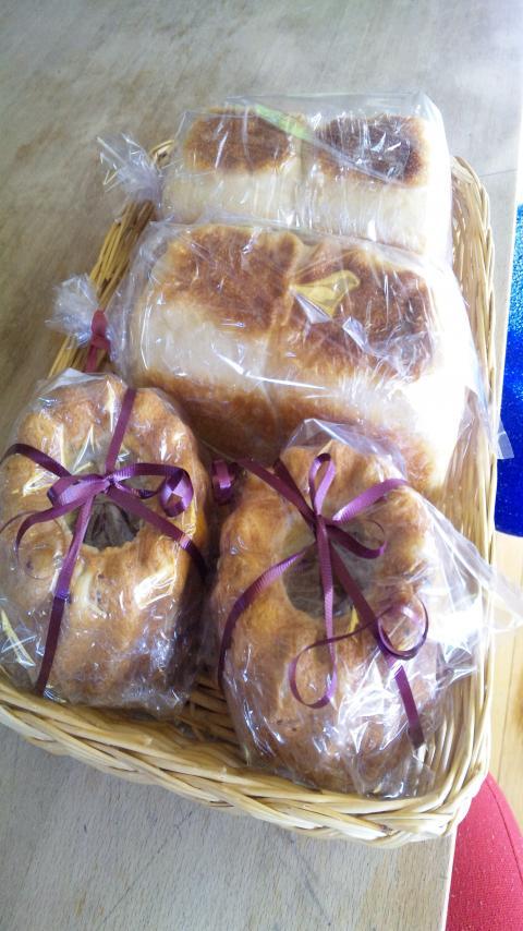 初焼き~2011 お土産パン