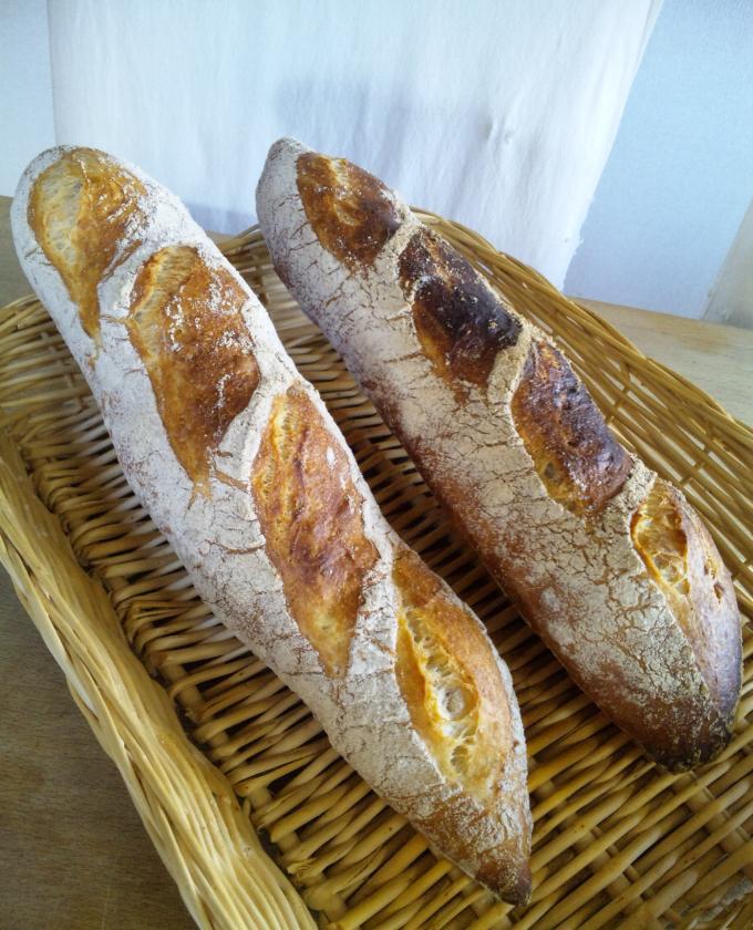 フランスパン 青サフ