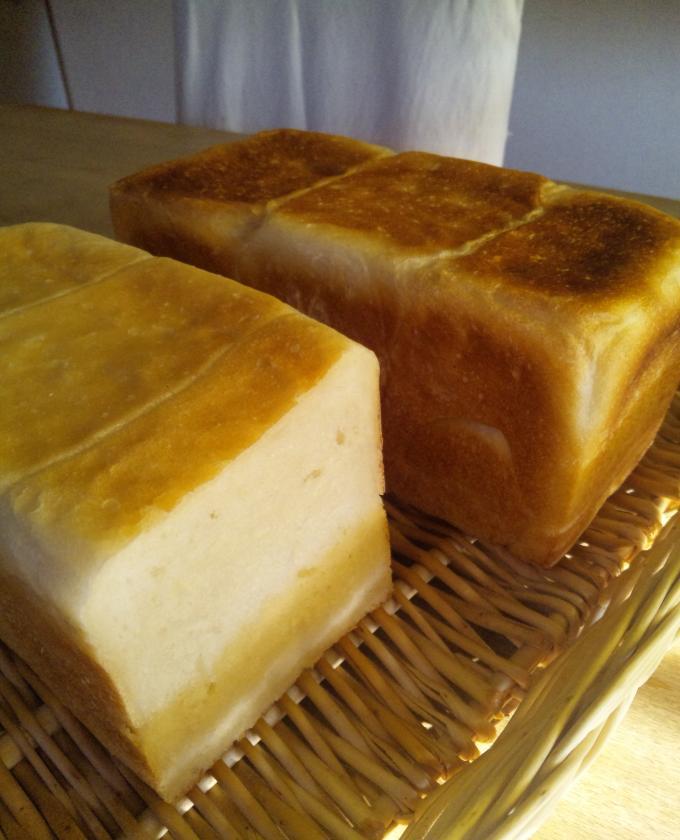 無水鍋の角食パン
