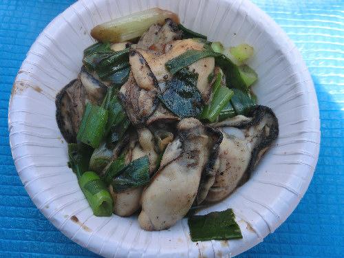牡蠣祭り②