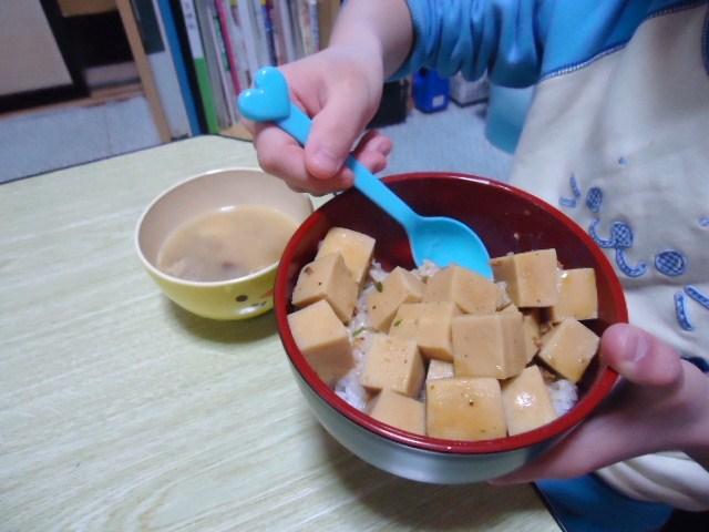 マーボー高野豆腐