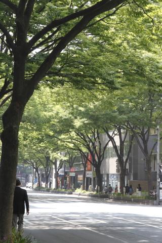 vacant street