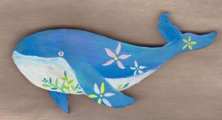 鯨ブローチ