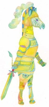 騎士シマウマ