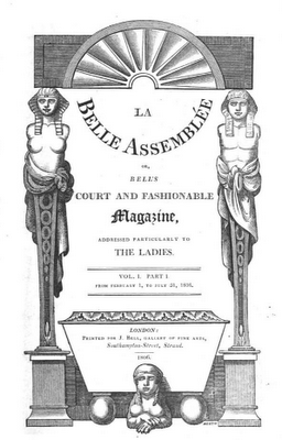 1_Front cover of La Belle Assemblee Feb 1806