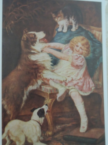 4月19日 100年前のポストカード