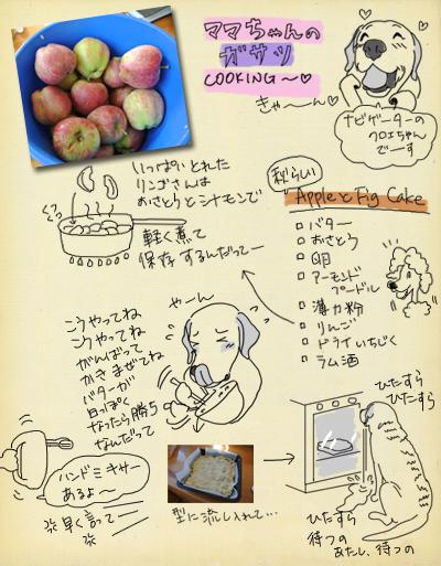 羊の国のラブラドール絵日記シニア!!「食欲の秋、クロエちゃんの秋」レシピ