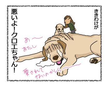 羊の国のラブラドール絵日記シニア!!「わかりすぎ」4コマ4