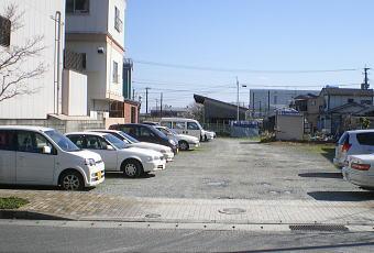 駐車場舗装工事1
