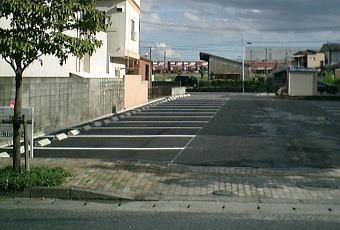 駐車場舗装工事2