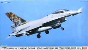 ハセガワF-16AMBM FF ノルウェー空軍 タイガーミート