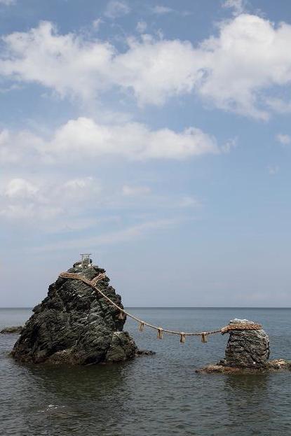 2011.08.23・『 夫婦岩 』三重県 伊勢市 二見町 03