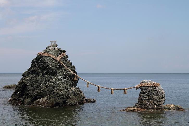 2011.08.23・『 夫婦岩 』三重県 伊勢市 二見町 01