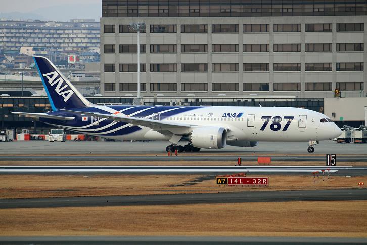 2012.01.27・『 大阪国際空港(伊丹空港)・787 』 兵庫県 伊丹 03