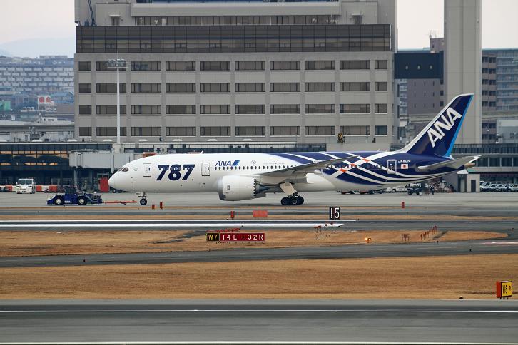 2012.01.27・『 大阪国際空港(伊丹空港)・787 』 兵庫県 伊丹 01