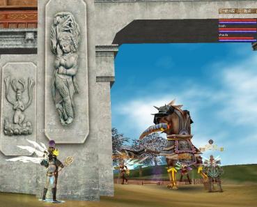 ジーナ 門柱の神仏