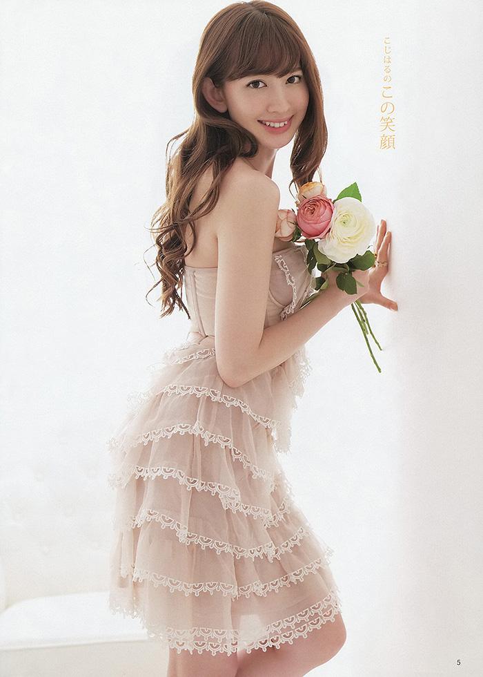 小嶋陽菜 Sweetst White