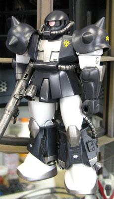 旧キット 1/144 MS-06RザクⅡ