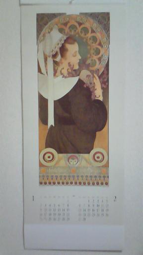 ミュシャカレンダー