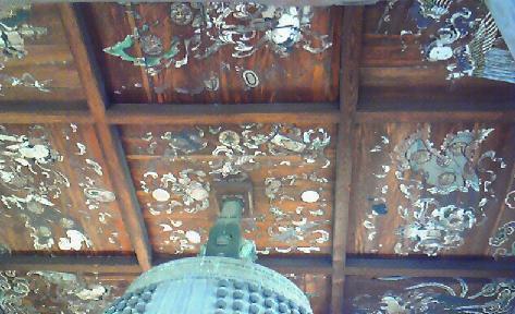 方広寺鐘の天井