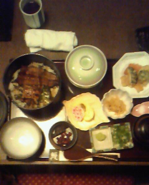 江戸川のひつまぶし定食