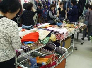 10月8日小絹セール②