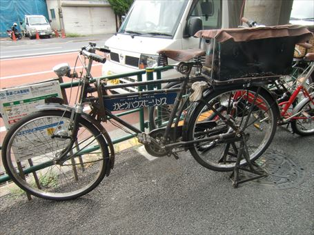 クラッシックタイプの自転車