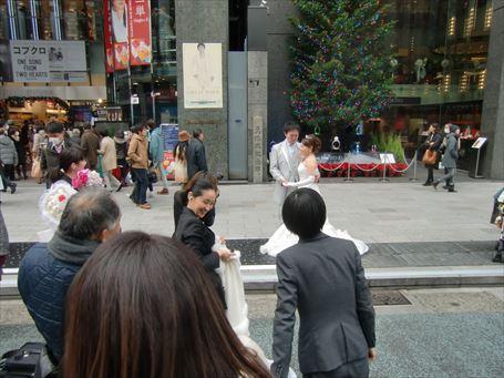 銀座四丁目の結婚式 ②