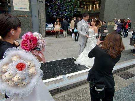 銀座四丁目の結婚式 ③