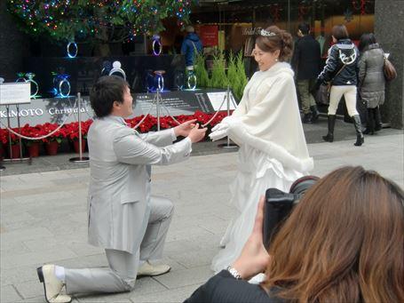 銀座四丁目の結婚式 ④