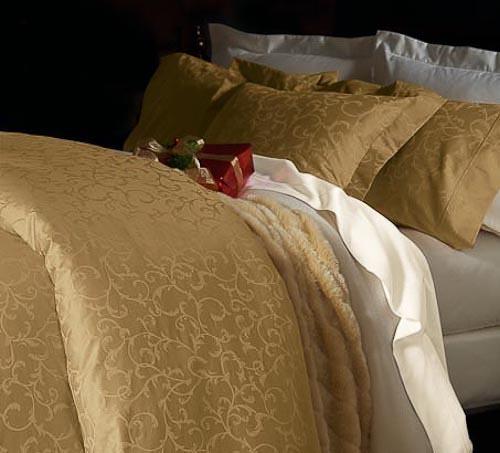 $最高級シーツ「ホテルライクインテリア」-金運 風水 ベッド