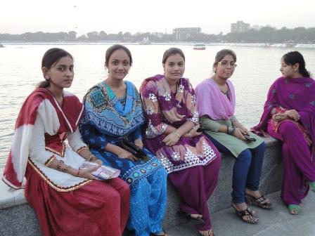 アーメダバードの女性たち