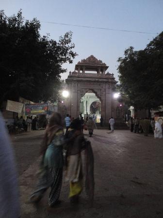シャトルンジャヤ寺院の入り口