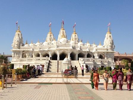 スワミナラヤン寺院1