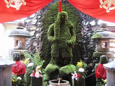 法善寺(水掛不動)