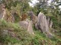 岩山の風景