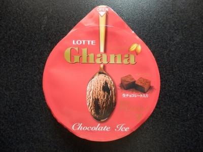 ガーナチョコレートアイス生チョコ入り