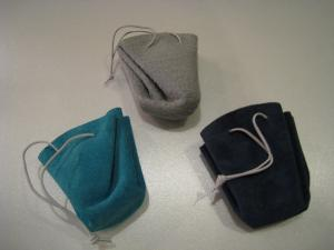 雨の首飾り 袋