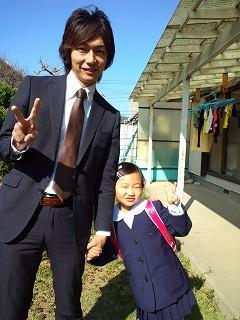 祝!入学!花より・・・