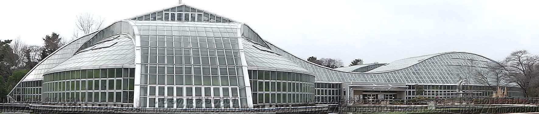 京都府立植物園の観覧温室