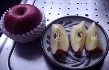 トムさんのりんご