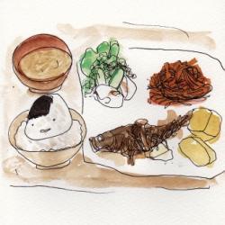 梅栄堂の日替わり定食