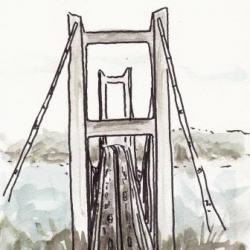 瀬戸大橋の真上?