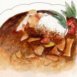 塩江町エリア お食事・TEA ROOM 味路(みろ)のカレー