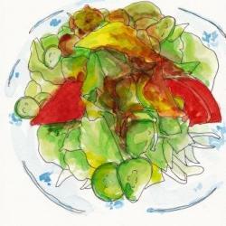 山なみ野菜サラダ麺