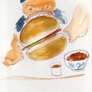 猪丼と猪バーガー