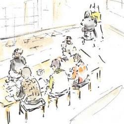 秋寅の館 水彩画教室