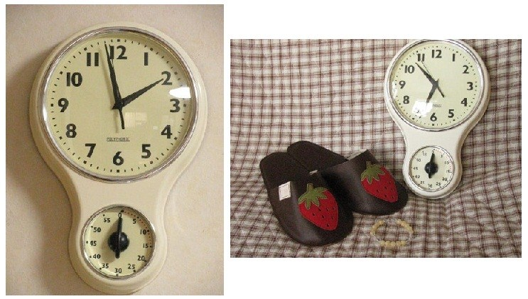 1216COCOHOUSEで掛時計購入