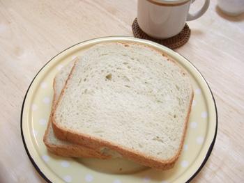 バナナココナッツパン断面